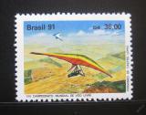 Poštovní známka Brazílie 1991 MS větroňů Mi# 2403