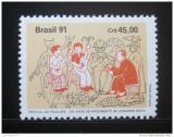 Poštovní známka Brazílie 1991 Festival folklóru Mi# 2425