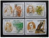 Poštovní známky Brazílie 1992 Konference OSN Mi# 2472-75