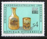 Poštovní známka Rakousko 1988 Výstava skla Mi# 1919