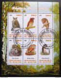 Poštovní známky Burundi 2011 Sovy