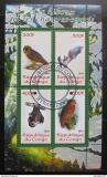 Poštovní známky Kongo 2011 Sovy a netopýři