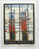 Poštovní známka Rakousko 1988 Moderní umění, G. Hoke Mi# 1938
