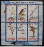Poštovní známky Kongo 2011 Mořští ptáci