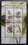 Poštovní známky Rwanda 2010 Sovy