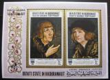 Poštovní známka Aden Qu aiti 1967 Umění Mi# Block 18 20€