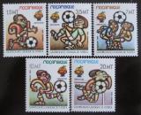 Poštovní známky Mosambik 1982 MS ve fotbale Mi# 884-88