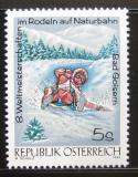 Poštovní známka Rakousko 1992 Jízda na saních Mi# 2050