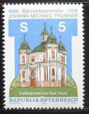 Poštovní známka Rakousko 1989 Kostel, Stadl-Paura Mi# 1950