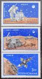 Poštovní známky Rumunsko 1971 Přistání na Měsíci Mi# 2914-16