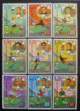 Poštovní známky Rovníková Guinea 1973 MS ve fotbale Mi# 307-15