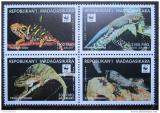 Poštovní známky Madagaskar 1999 Ještěrky, WWF 260 Mi# 2313-16