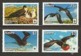 Poštovní známky Nauru 2008 Fregatka obecná, WWF 425 Mi# 690-93
