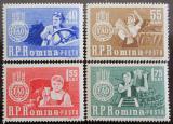 Poštovní známky Rumunsko 1963 Boj proti hladu Mi# 2126-29