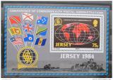 Poštovní známka Jersey 1984 Poštovní konference Mi# Block 3