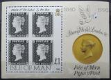 Poštovní známky Ostrov Man 1990 První známka Mi# Block 12