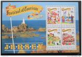 Poštovní známky Jersey 1990 Festivaly Mi# Block 5