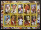 Poštovní známky Džibutsko 2012 Papež Jan Pavel II.