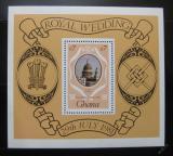 Poštovní známka Ghana 1981 Královská svatba Mi# Block 90