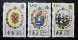 Poštovní známky Hongkong 1981 Královská svatba Mi# 372-74