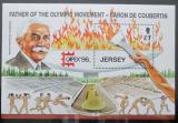 Poštovní známka Jersey 1996 Moderní olympijské hry Mi# Block 13