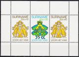 Poštovní známky Surinam 1980 Pohádkové postavičky Mi# Block 26