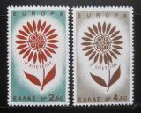 Poštovní známky Řecko 1964 Evropa CEPT Mi# 858-59