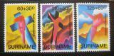 Poštovní známky Surinam 1993 Velikonoce Mi# 1435-37
