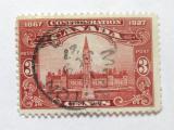 Poštovní známka Kanada 1927 Parlament v Ottawě Mi# 120