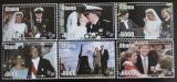 Poštovní známky Ghana 2002 Holandský královský pár Mi# 3425-30