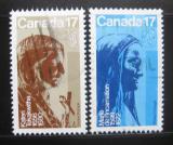 Poštovní známky Kanada 1981 Sochy, Emile Brunet Mi# 796-97