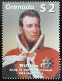 Poštovní známka Grenada 2005 Král William I. Mi# 5594