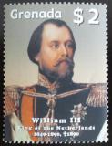 Poštovní známka Grenada 2005 Král William III. Mi# 5596