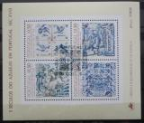 Poštovní známky Portugalsko 1983 Ozdobné kachličky Mi# Block 42