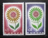 Poštovní známky Francie 1964 Evropa CEPT Mi# 1490-91