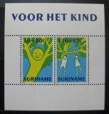 Poštovní známky Surinam 1992 Dětské kresby Mi# Block 59