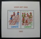 Poštovní známky Surinam 1993 Děti při hře Mi# Block 61