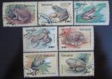 Poštovní známky Tanzánie 1995 Žáby Mi# 2264-70