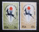Poštovní známky JAR 1969 Národní hry Mi# 380-81