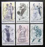 Poštovní známky Rakousko 1970 Operety Mi# 1331-33,1338-40