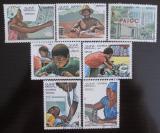 Poštovní známky Guinea-Bissau 1984 Nezávislost Mi# 797-803