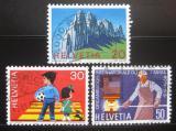 Poštovní známky Švýcarsko 1969 Výročí a události Mi# 911-13