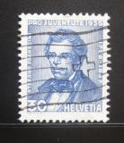 Poštovní známka Švýcarsko 1935 Stefano Franscini Mi# 290 Kat 13€