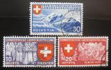 Poštovní známky Švýcarsko 1939 Národní výstava Mi# 335-37