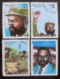 Poštovní známky Guinea-Bissau 1988 Samora Machel Mi# 951-54
