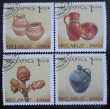 Poštovní známky Bělorusko 1992 Keramika Mi# 17-20