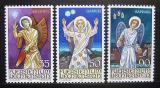 Poštovní známky Lichtenštejnsko 1986 Archandělé Mi# 910-12