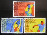 Poštovní známky Lichtenštejnsko 1984 LOH Los Angeles Mi# 846-48