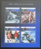 Poštovní známky Šalamounovy ostrovy 2015 Mise Apollo Mi# 3466-69