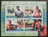 Poštovní známky Togo 2010 Boxeři Mi# 3599-3602 Kat 12€